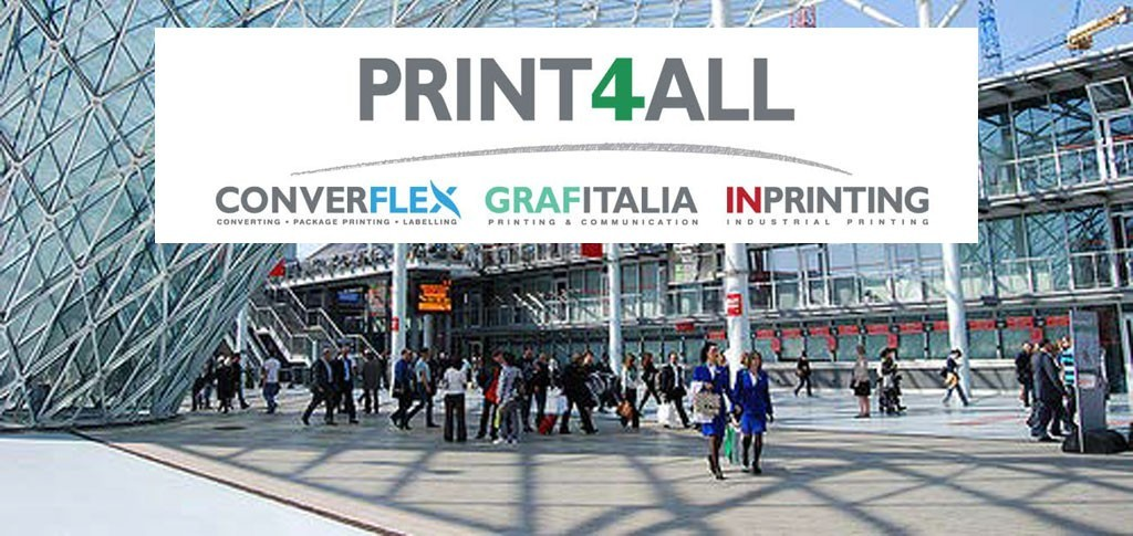Packaging Plast sarà presente al Print4All di Milano